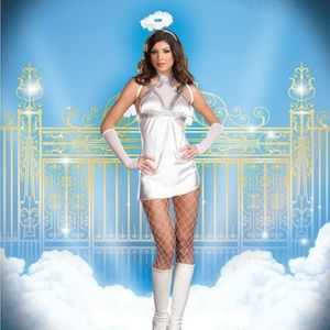 "Dreamgirl ""She's No Angel"" Halloween Costume - XL"